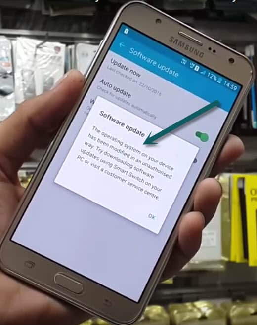Unauthorized Actions Have Been Detected in Samsung