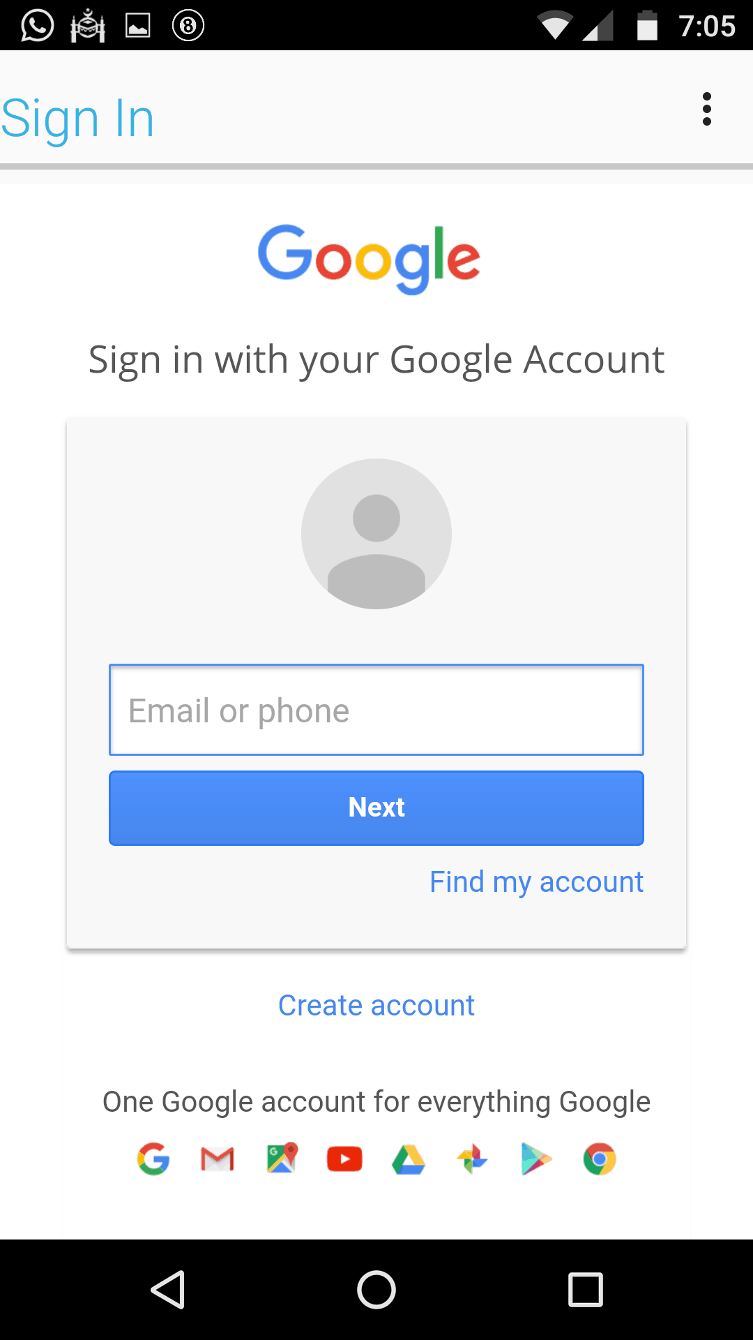 Sign in Account to bypass frp lenovo tab 2