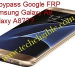 How to bypass Google FRP lock Samsung Galaxy A9 Pro, Galaxy A8