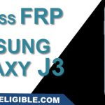 How to remove Google Verification and Bypass Galaxy J3 FRP Lock