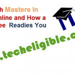 Preparing With Masters In Education Online and How a Masters Degree Readies You
