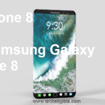 iPhone 8 vs Samsung Galaxy Note 8, Features Comparison and Specifications, Display Details