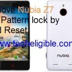ZTE Nubia Z7 Mini Remove Password, Pattern Lock, Hard Reset