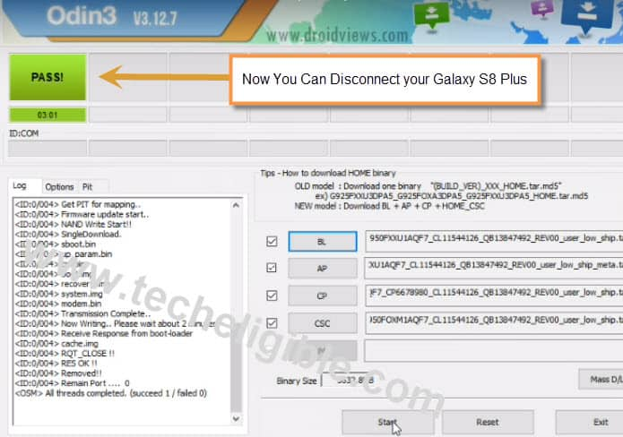 Bypass Google Account Galaxy S8 G950F, S8 Pluss G955FD, G955F, Remove FRP Galaxy s8 plus, download combination files galaxy s8, combination files galaxy s8+, Odin Software