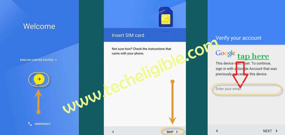 Remove FRP Panasonic Eluga Mark, Bypass Google Account, Remove FRP lock, Unlock Panasonic Eluga Mark, Panasonic Eluga Mark Password Remove