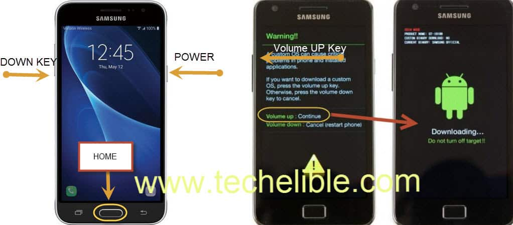 Firmware Galaxy J3, Upgrade J3 Firmware, Downgrade J3 Firmware