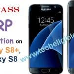 Remove FRP Galaxy S8 G950F, S8 Plus G955FD, G955F [Android 7.0]
