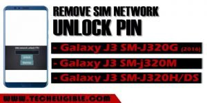 Remove SIM Network Unlock PIN Galaxy J3