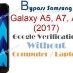 How to Bypass Google Account Galaxy A5, A3, A7 (2017) Without PC