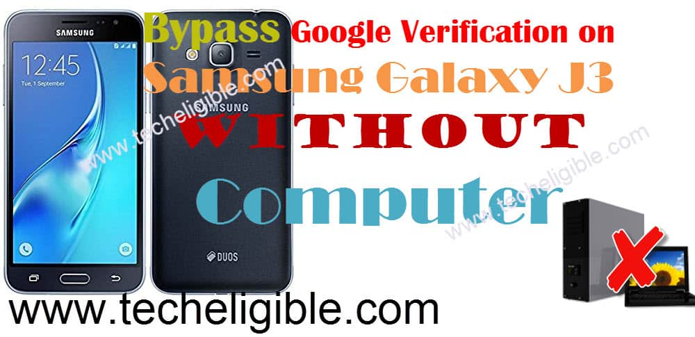 How to Bypass FRP Protection Galaxy J3 Without PC [Latest Method]