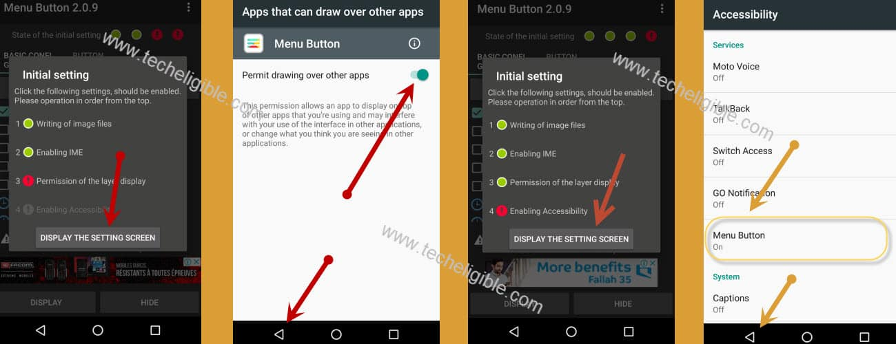 Bypass ZTE Android 6.0.1 frp by displaying 3 dots