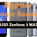 ASUS Zenfone 3 Max Bypass Google Verification and FRP Android 7.1.1
