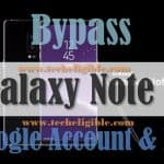 How to Bypass Google Account Galaxy Note 8, Remove FRP Protection