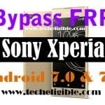 FRP Bypass Sony Xperia Android 7.0 and Android 7.1 [2017 Method]