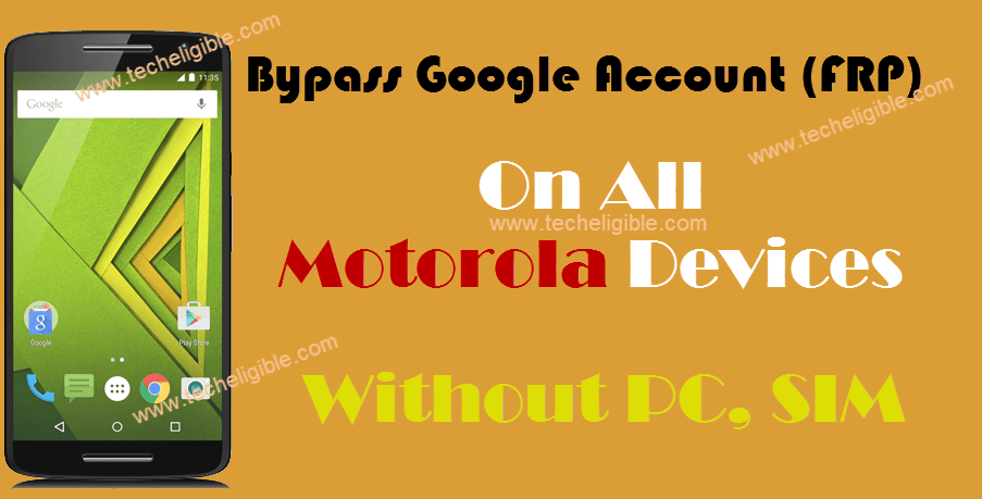 Bypass MOTO FRP | Bypass Google Account All Moto Devices
