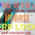 Bypass FRP Lock LG K10 LTE, K8, K5, K4 Android 7.0 (Latest FRP Method)