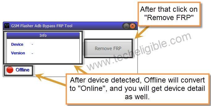 Remove FRP by GSM Flasher Tool