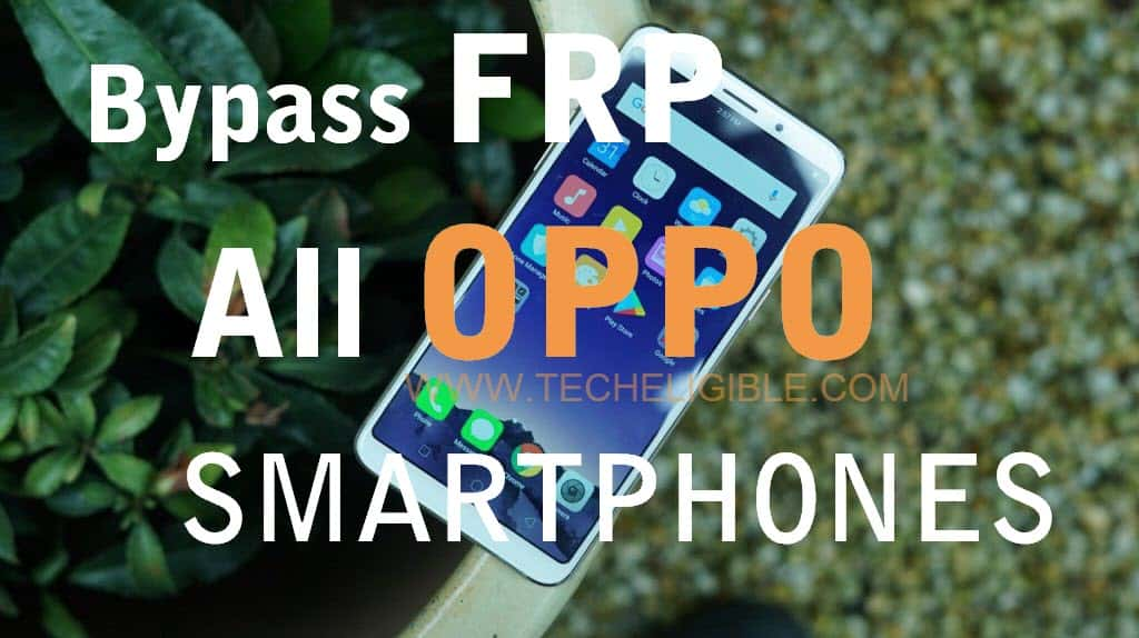 Bypass Google Account OPPO F5. Unlock FRP ALL OPPO devices