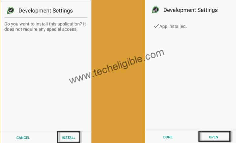 Install Development Settings to Bypass FRP Lock Galaxy J5 Prime