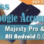 Bypass Google Account ZTE Majesty Pro, Sonata, All ZTE Android 6.0.1