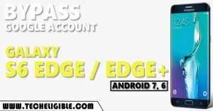 Bypass google account galaxy S6 edge plus