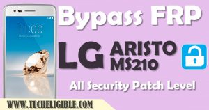 Bypass Google Account LG Aristo MS210