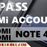 Bypass XIAOMI Redmi Note 4 Mi Account With Miui 9 [Latest Method]
