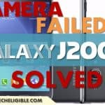 Samsung Galaxy J200G Camera Failed, Solve Rear and Front Camera