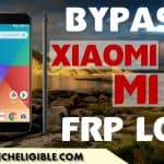 Xiaomi Mi A1 Bypass Google Account, Remove FRP Protection Android 7.1.2