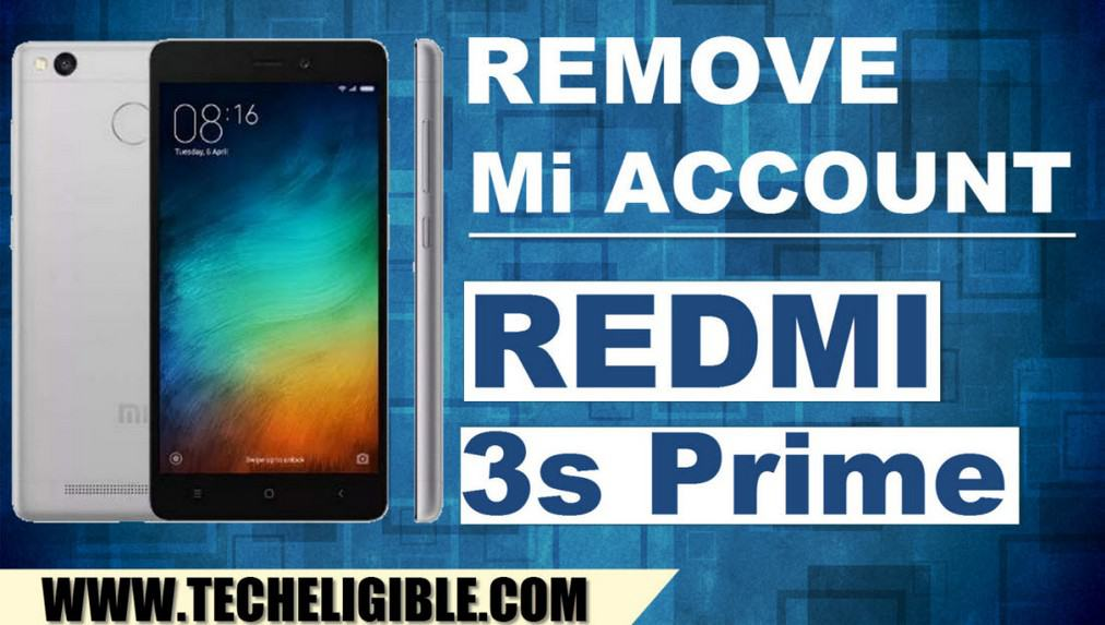 Remove MI Account Redmi 3s Prime, Enable EDL Mode in Xiaomi