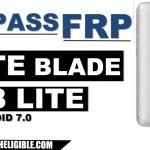 Bypass Google Account FRP ZTE BLADE V8 LITE Nougat 7.0 By Software