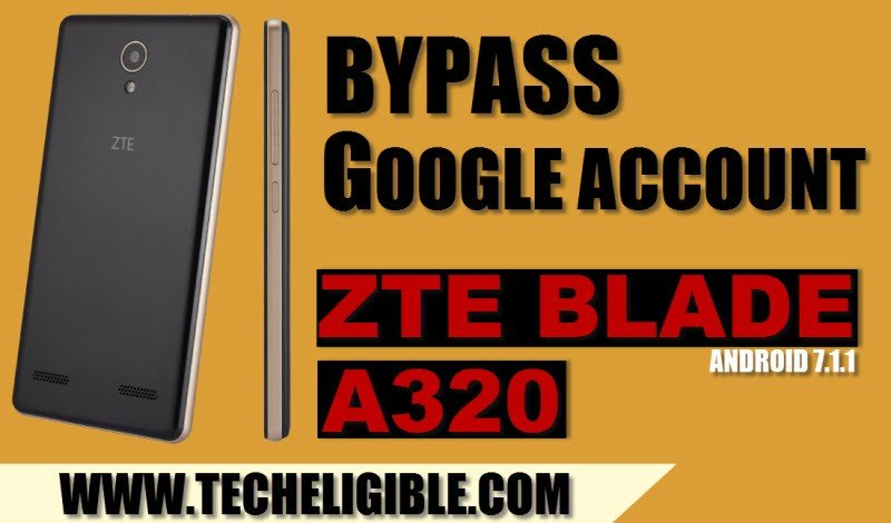 How to Bypass Google Account ZTE Blade A320, Android 7 1 1 By ADB