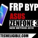 Brand New Method to Bypass FRP ASUS Zenfone 3 MAX By SP Flash Tool