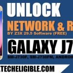 How to Root and Unlock Network Galaxy J7 Pro By Z3X Tool Free
