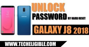 Unlock Password Samsung Galaxy J8, Hard Reset Galaxy J8 2018, Add New Password Galaxy J8