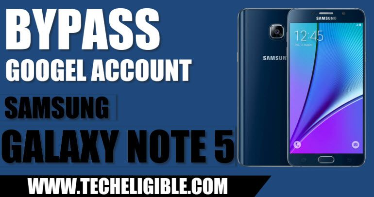 bypass google account frp galaxy note 5