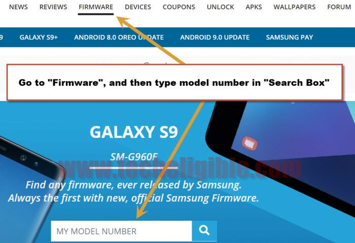 Download Firmware Samsung Galaxy S9