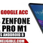 Bypass Google Account ZenFone Max Pro M1 And All ASUS Android 8