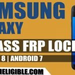 Bypass Google Account Galaxy Android 8, Android 7 Without PC