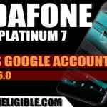 How to Bypass FRP Vodafone Smart Platinum 7 Android 6.0.1 Without PC