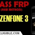 Latest Method to Bypass FRP Asus ZenFone 3 Without PC and ADB Mode