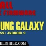Install Stock Firmware Samsung Galaxy S9 and S9 Plus Android 9 (PIE)