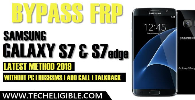 bypass frp samsung galaxy s7 without talkback