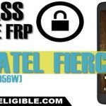 Bypass FRP Lock Alcatel Fierce 4 (5056N), (5056W) Android Version 6
