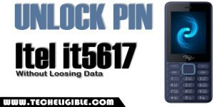 Unlock Phone PIN Itel it5617