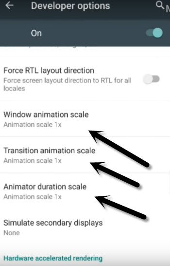 Fix Android Auto Battery Drain Issue, Disable Animation Scale