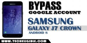 Bypass frp Galaxy J7 Crown Android 8