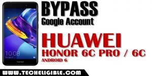 Bypass frp Huawei Honor 6C Pro, honor 6C frp unlock
