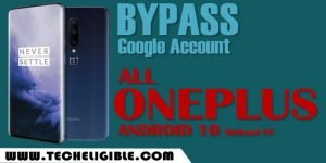 Bypass frp All OnePlus Android 10