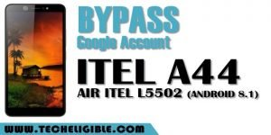 Bypass Frp Itel A44 Air Itel L5502 Android 8.1